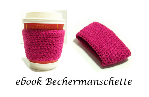 Ravelry: Coffee-to-go Bechermanschette pattern by Kim Rosenhagen