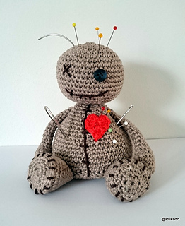 Voodoo Doll Pin Cushion pattern by Patricia Stuart