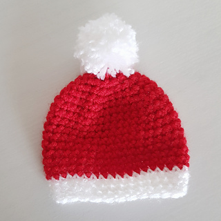 Ravelry  Santa hat - Chocolate orange cover pattern by Holly Fisher   Pulpo  and Peach 93a3a2377b2