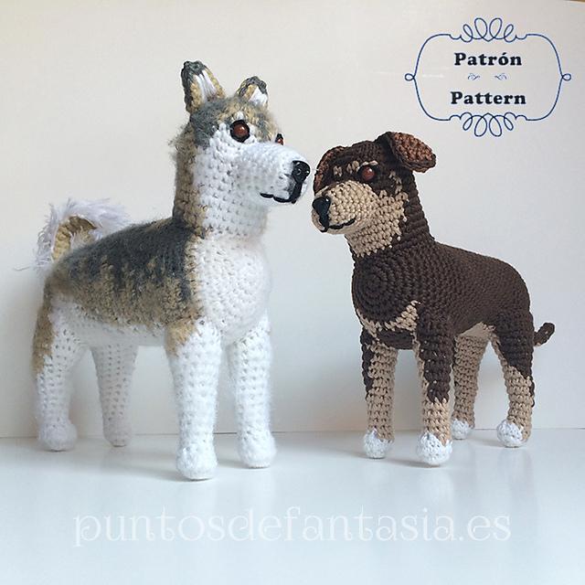 Ravelry: Perro Genérico / Generic Dog pattern by Puntos de Fantasía