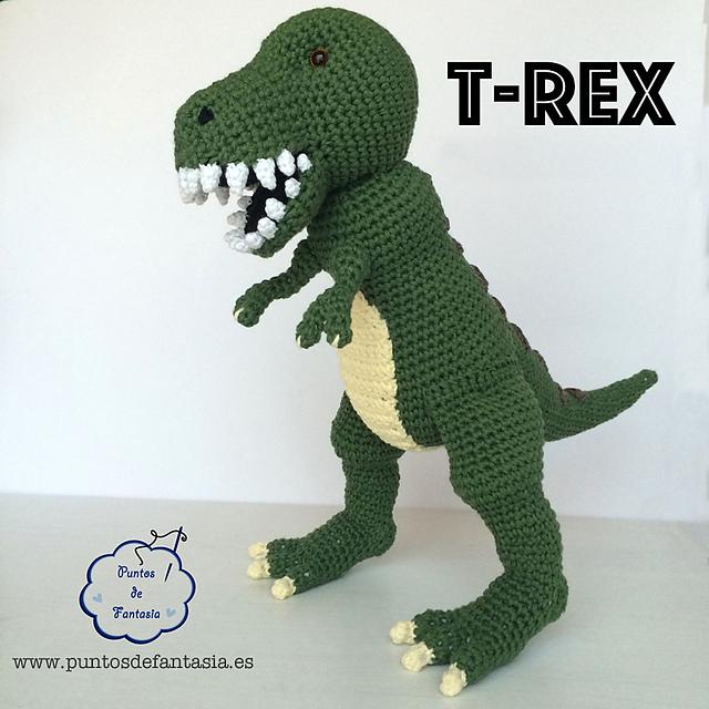 Ravelry: Dinosaurio T-Rex pattern by Puntos de Fantasía