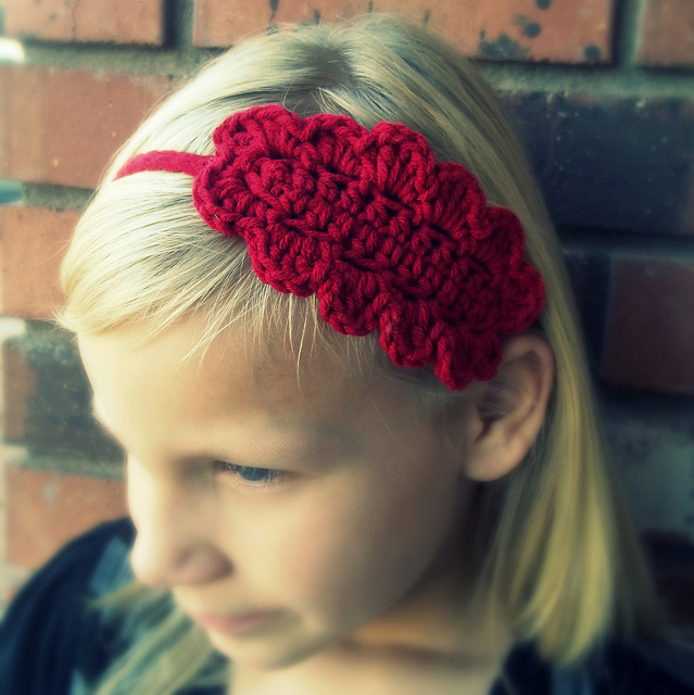 Ravelry Crochet Steampunk Lace Headband Pattern By Becky Dossey