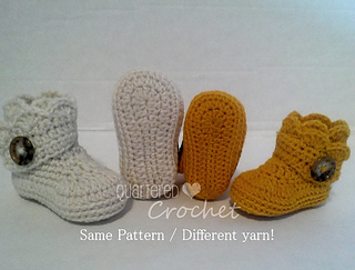 Ravelry Baby Wrap Around Booties Pattern By Amy Ditmore