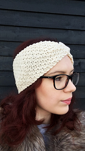 Ravelry Emily Twisted Headband Pattern By Rebecca Louise Design