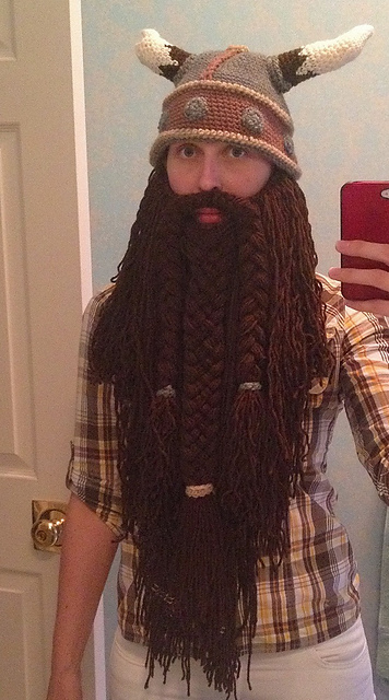 Ravelry Beard Viking Or Wizard Pattern By Reckless Stitches