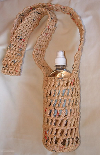 Ravelry Recycled Plastic Water Bottle Holder Pattern By Cindy