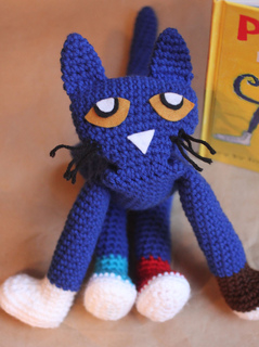 Ravelry: Pete the Cat pattern by Sarah Zimmerman