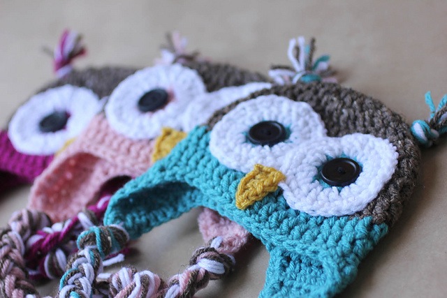 Ravelry Owl Hat Pattern By Sarah Zimmerman