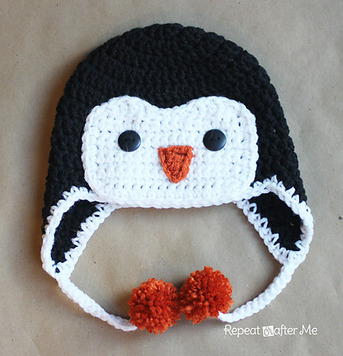 Ravelry Crochet Penguin Hat Pattern By Sarah Zimmerman