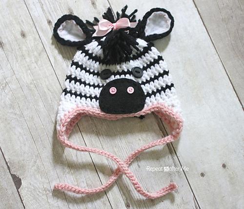 Ravelry Zebra Hat Pattern By Sarah Zimmerman