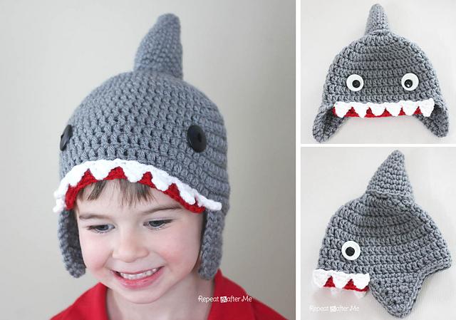 Ravelry Shark Hat Pattern By Sarah Zimmerman