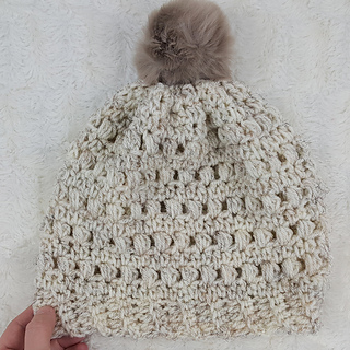 Ravelry: Puff Stitch Beanie pattern by Krista Cagle