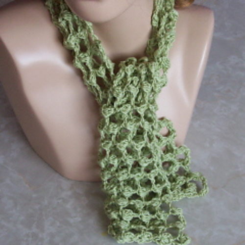 Ravelry Puff Stitch Summer Lace Scarf Pattern By Rhelenas Crochet