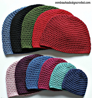 Ravelry  Basic Half Double Crochet Hat pattern by Rhondda Mol ... a7a98242d43