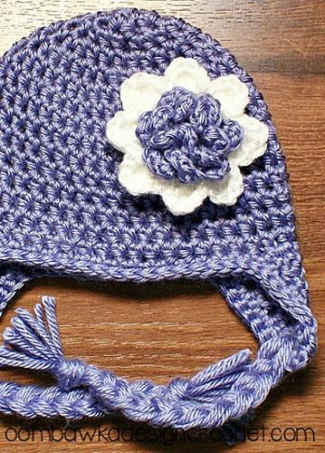 Ravelry Hdc Earflap Hat Pattern By Rhondda Mol Oombawka Design