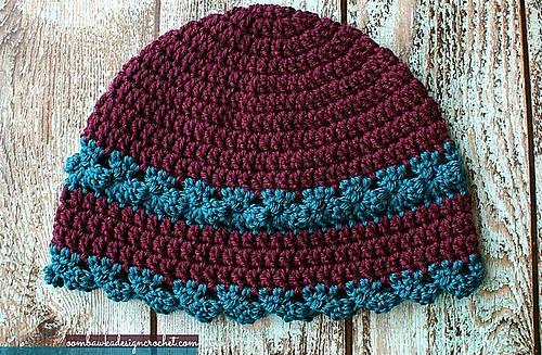 Ravelry I Feel Pretty Womens Crochet Hat Pattern By Rhondda Mol