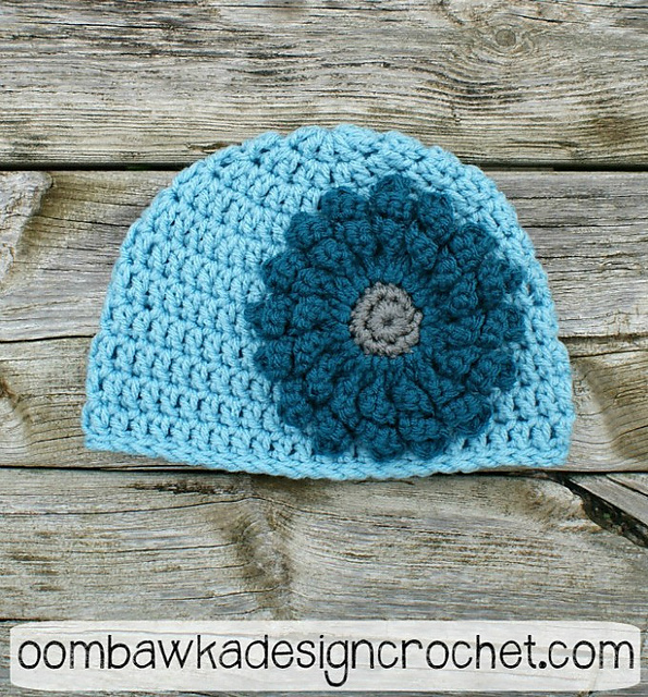 Ravelry Basic Double Crochet Beanie Pattern By Rhondda Mol