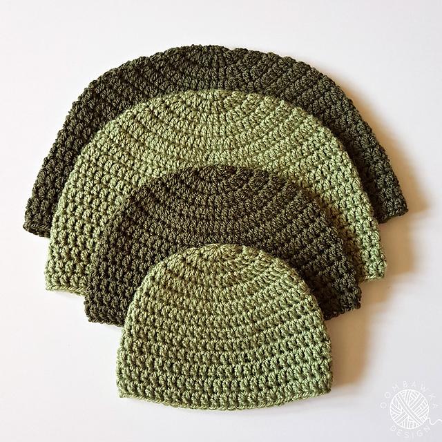Ravelry Dk Double Crochet Hat Pattern By Rhondda Mol Oombawka Design