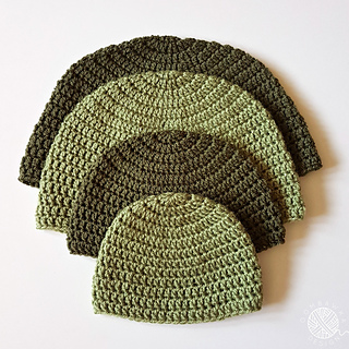 DK Double Crochet Hat Pattern. Free Pattern from Oombawka Design Crochet. ©  Oombawka Design 7550f61ff44