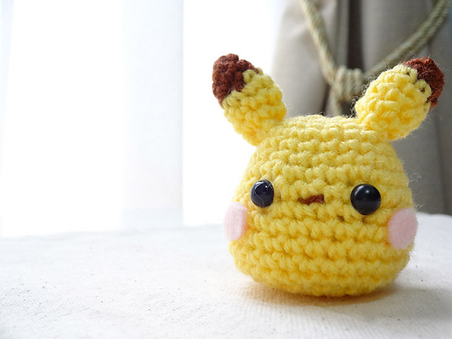 Ravelry: Amigurumi Pikachu pattern by Sandy Chan