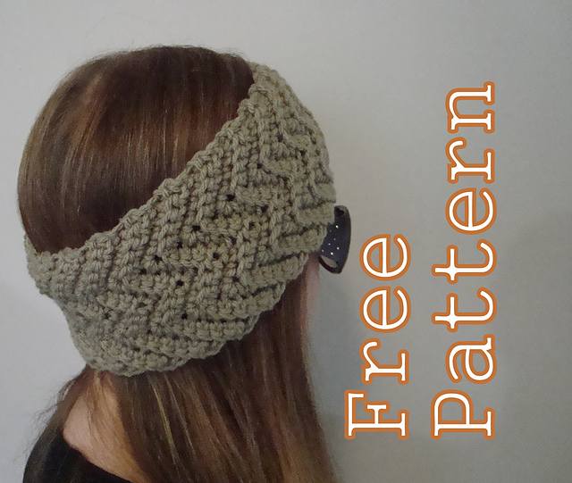 Ravelry: Simple Waves Headband and Boot Cuffs pattern by Jennifer Ozses