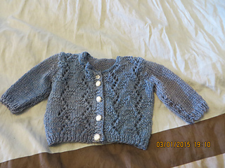 Baby Cardigan in Tweed