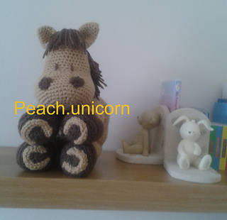 Ravelry Peach Unicorn S Ravelry Store Patterns
