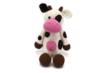 Ravelry Cow Stuffed Animal Pattern By Rosanne Briggeman