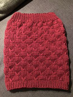 3f41c6d96 Victorias strikket skjørt pattern by Rosa Jensen