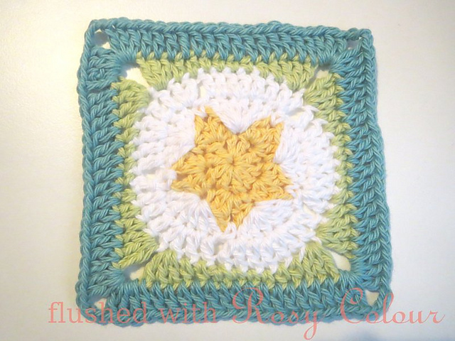 Ravelry Star Granny Square Pattern By Teena Sutton Murphy