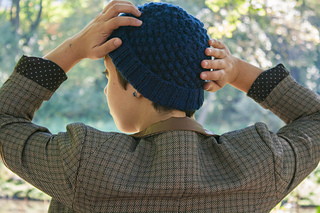 Ravelry  Blackberry Stitch Winter Hat pattern by Alena Ruman 11ee1ca0c98