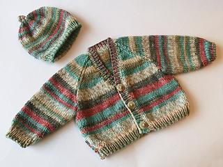 Ravelry: Basic Babies Raglan Cardigan and Hat pattern by ...