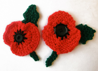 Ravelry: Remembrance Day Poppy pattern by Ruth Maddock