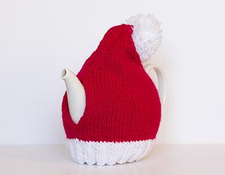 Ravelry Santa Hat Tea Cozy Pattern By Sarah Cooke
