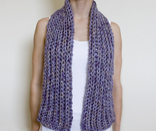 Ravelry: Simple Super Chunky Scarf pattern by Sarah Cooke