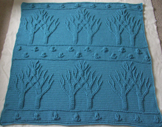 Tree of Life Afghan (Crochet) pattern by Lion Brand Yarn - Ravelry