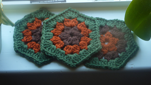 Ravelry Super Simple Hexagon Pattern By Leanda Xavian