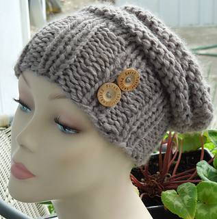 54a689a1104 Ravelry  Slouchy Beanie Hat Bulky pattern by Sarah Taylor x