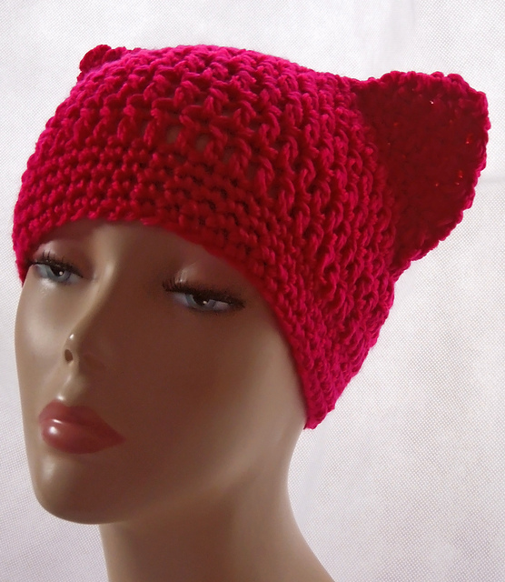 Ravelry Cat Ears Hat Pattern By Sarah Taylor X
