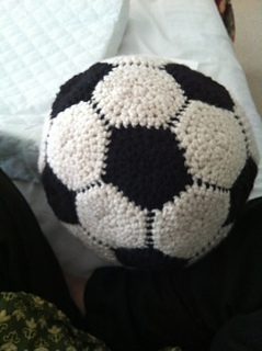 Ravelry Easy Crochet Soccer Ball Pattern By Sarita Kumar
