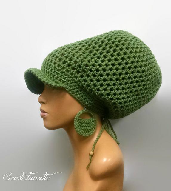 Ravelry Tamdreadlock Hatslouch Hat Pattern By Scarfanatic1