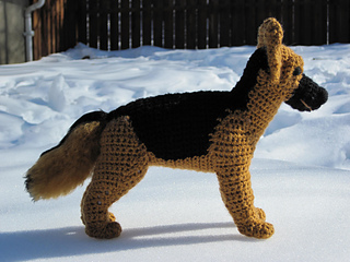 Ravelry German Shepherd Pattern By Christine Lucas