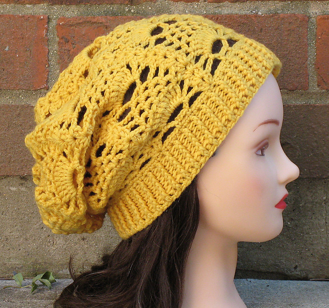 patterns   Justine Walley s Ravelry Store.   Delilah Slouchy Hat 5cb9291c83b