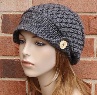dd2e3f7a4ba Ravelry  Finley Newsboy Hat pattern by AlyseCrochet