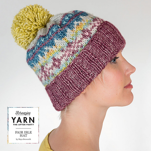 Ravelry: Fair Isle hat pattern by Maya Bosworth