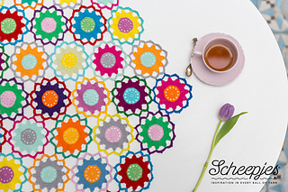 Ravelry Garden Room Tablecloth Pattern By Christa Veenstra
