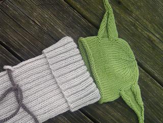 Ravelry little yoda baby hat pattern by kristy granger kristy granger dt1010fo
