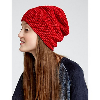 Ravelry Slouchy Beanie Pattern By Caron Design Team