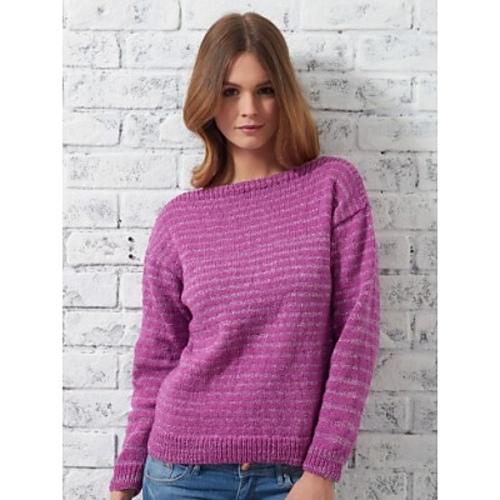 Ravelry Bateau Sweater Pattern By Patons