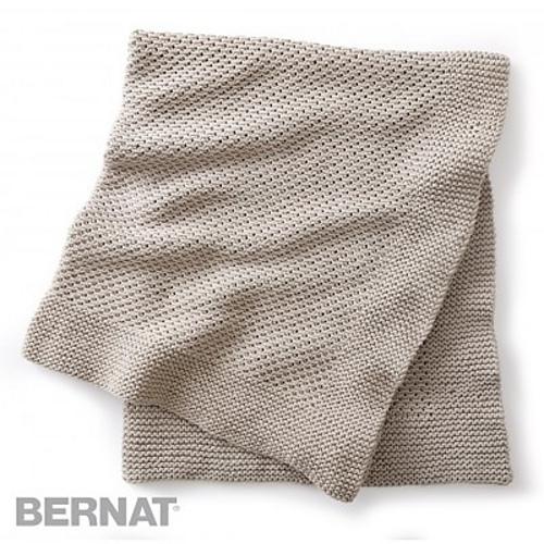 Ravelry Quiet Times Knit Afghan Pattern By Bernat Design Studio